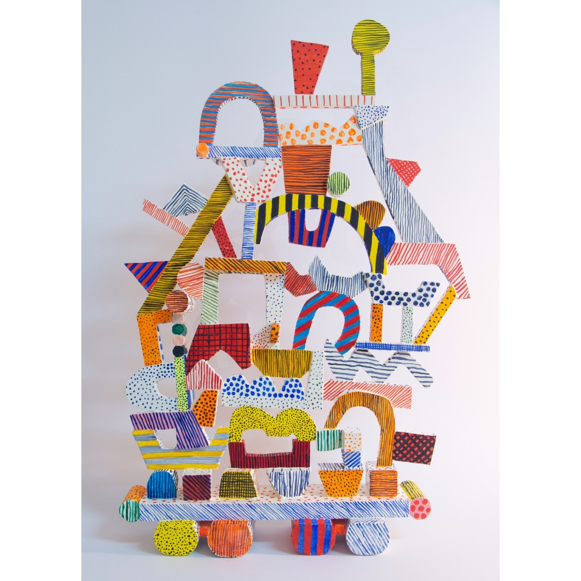 Everything I own, painted timber construction Julia Flanagan